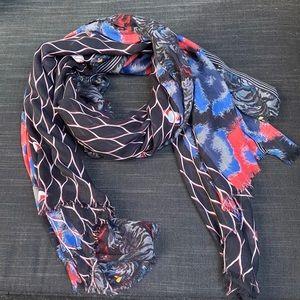 huge Kenzo Paris scarf SILK!